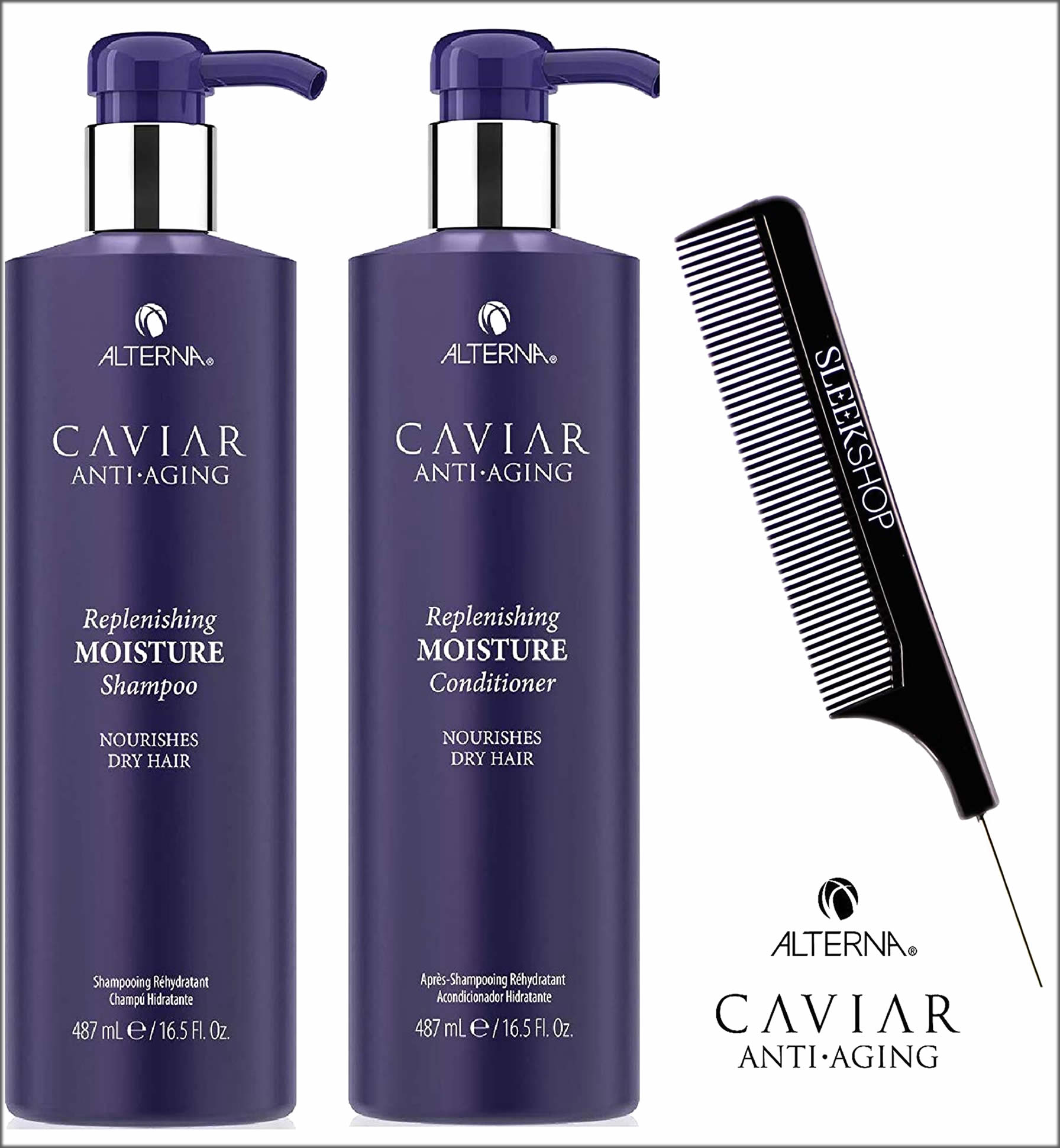 Alterna Caviar Anti-Aging Moisture Conditioners For Dry Hairs