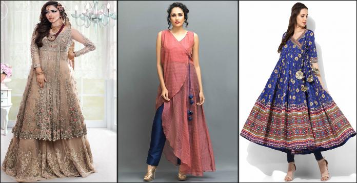 Angrakha Style Dresses Stunning Designs