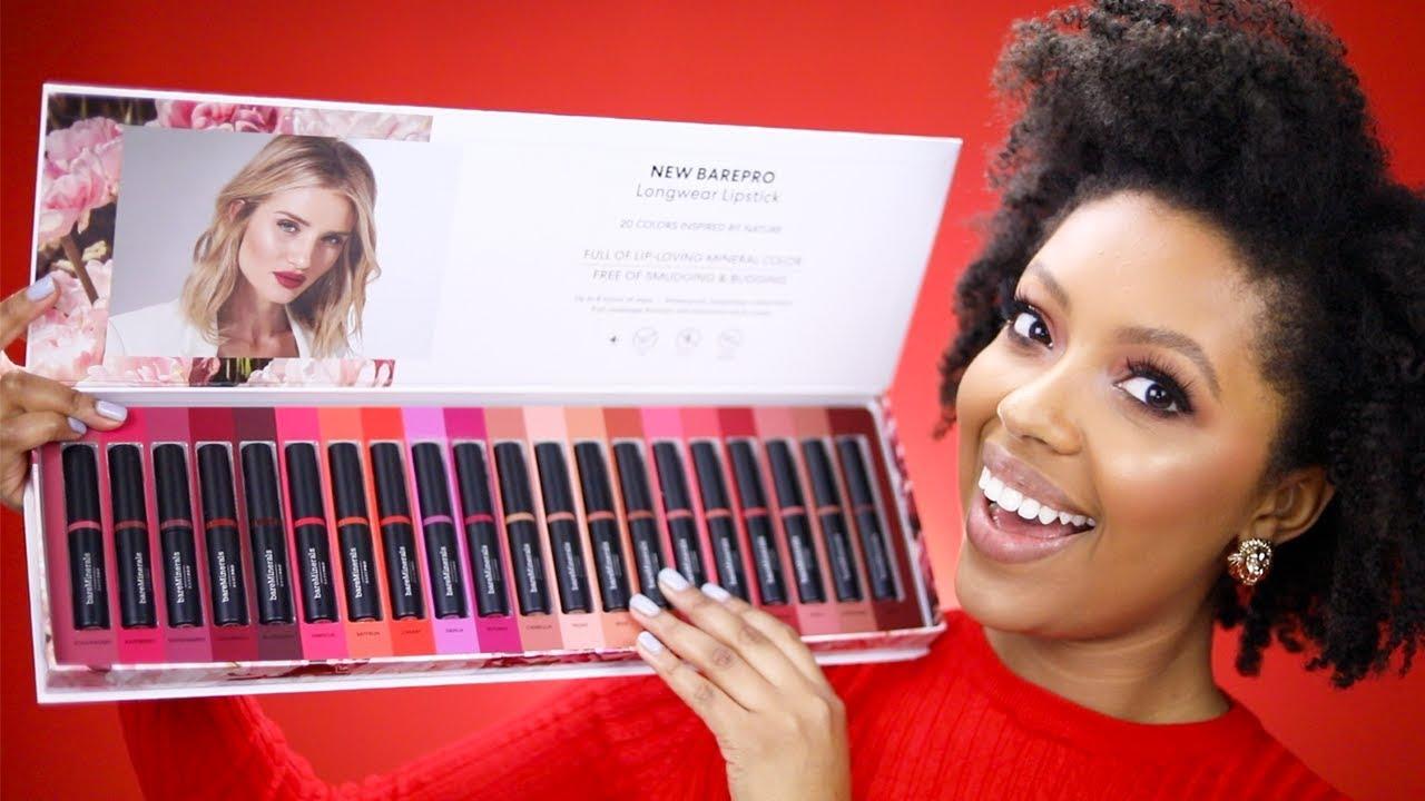 Barepro Longwear Matte Lipstick collections