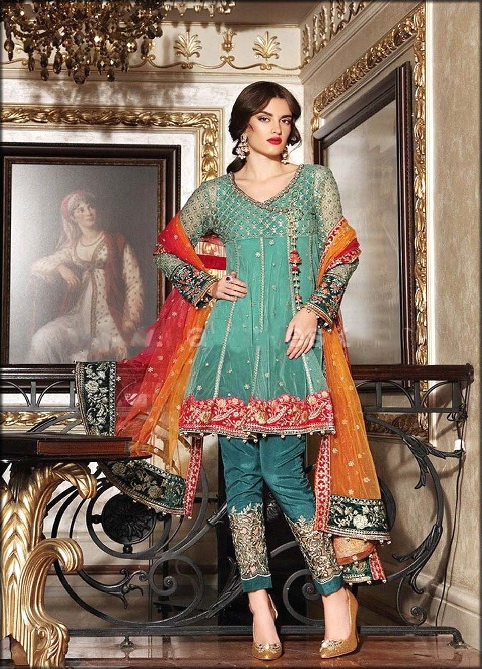 Best Angrakha Style Dress For Woman