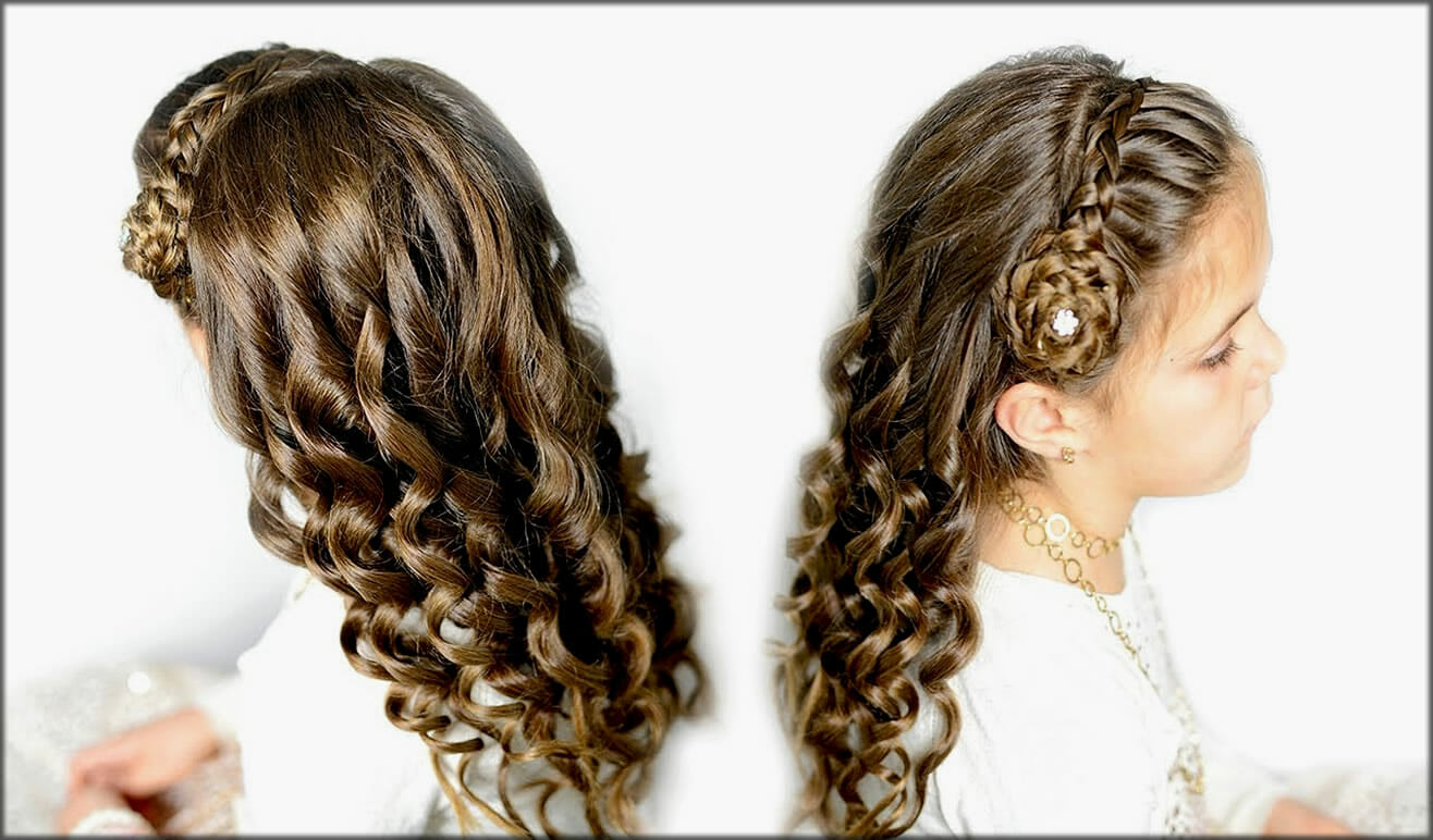 Braid Flower Crown On Front Women Hairstyles For Long Hairs