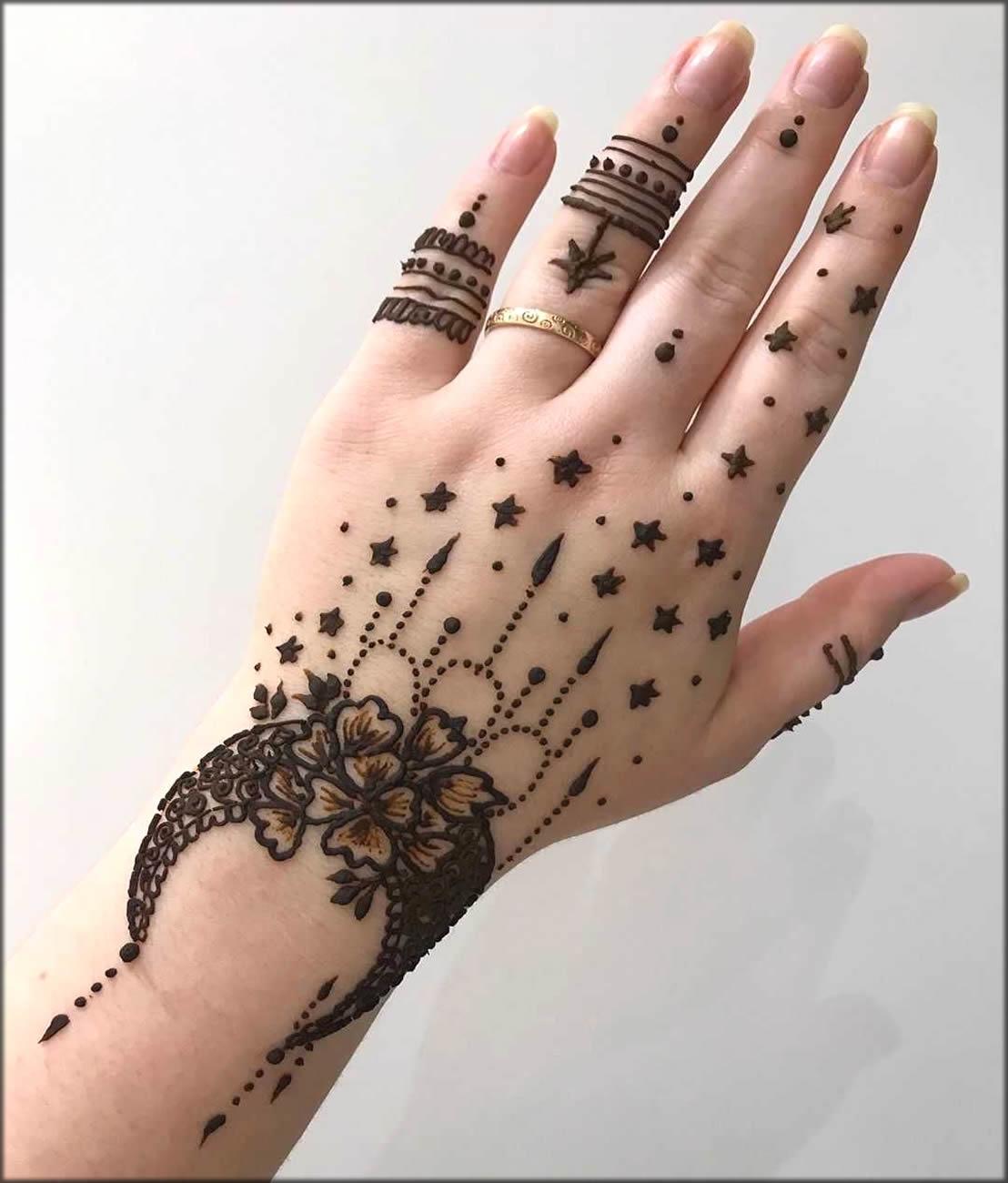 Chand Pattern Hina Design