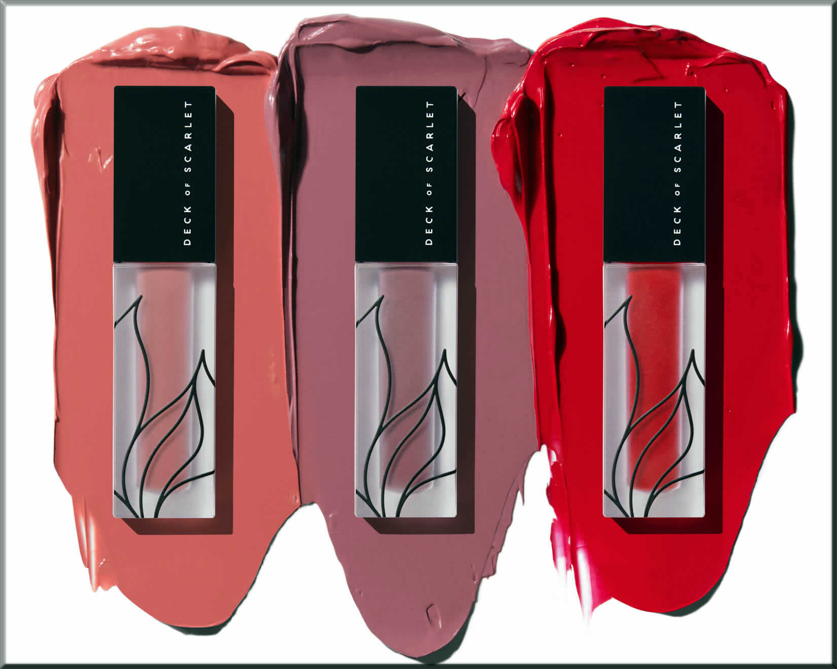 Deck of Scarlet Matte Velvet Lip Color Kit