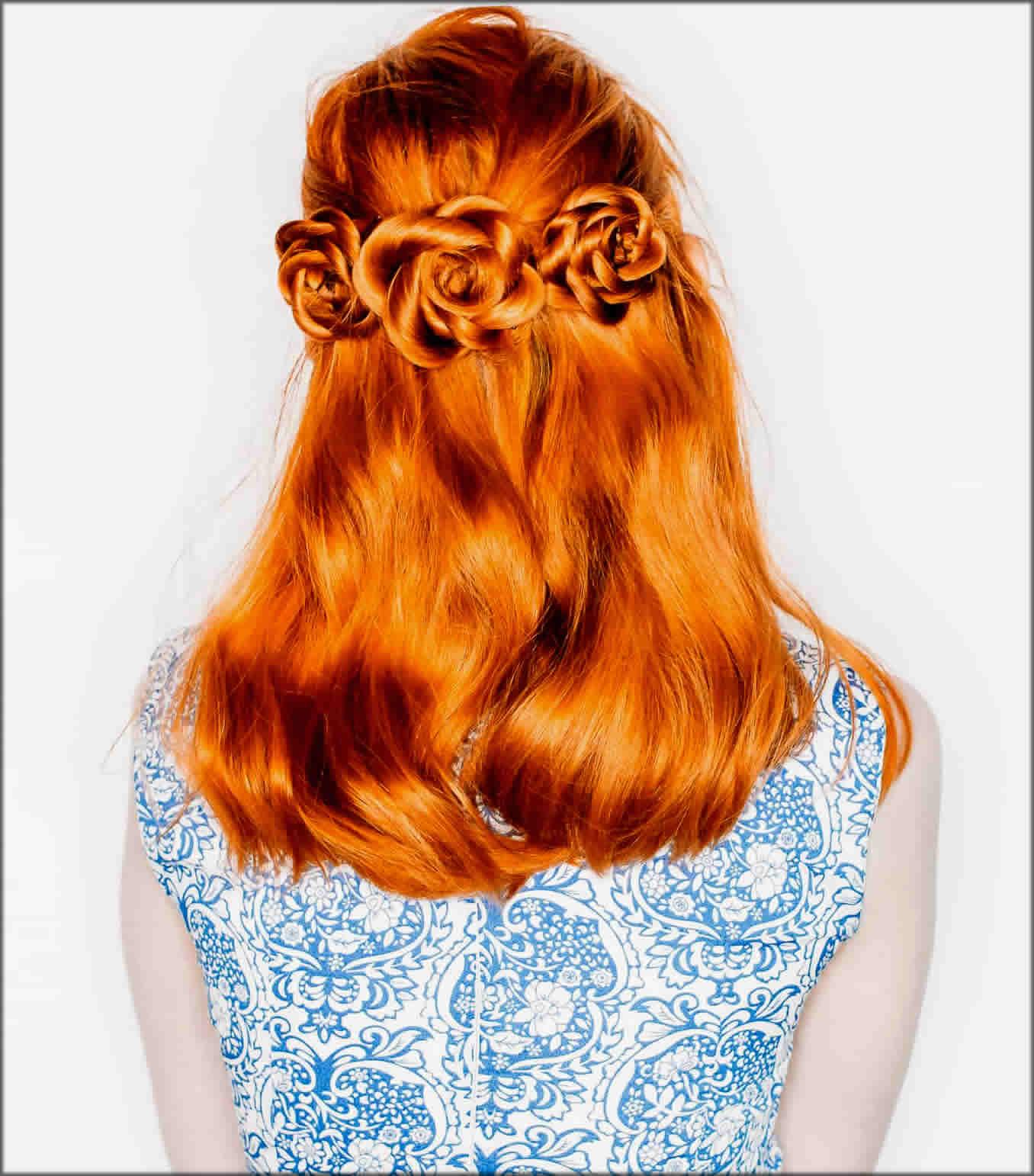Easiest Flower Braid Crown Women Hairstyles For Long Hairs