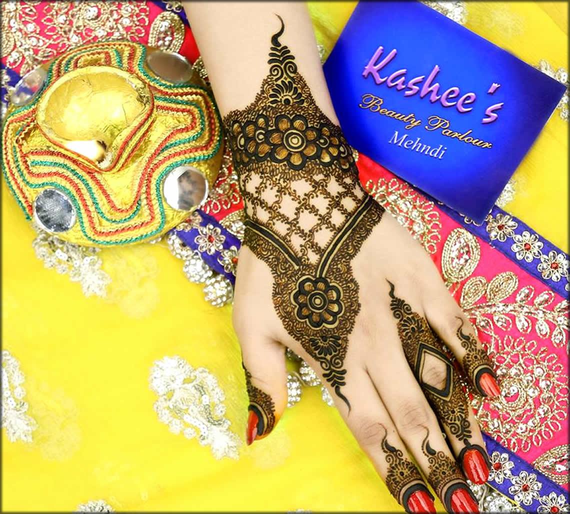 Eid Mehandi Designs By Kashee's