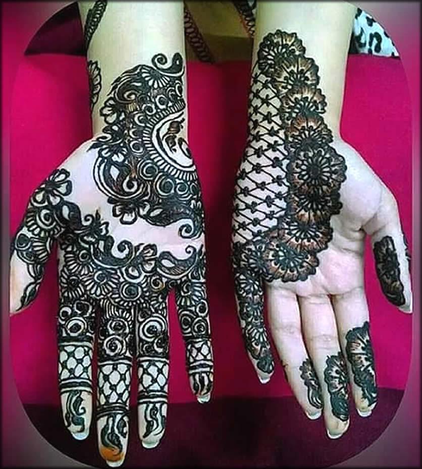 Floral Easy Design For Eid