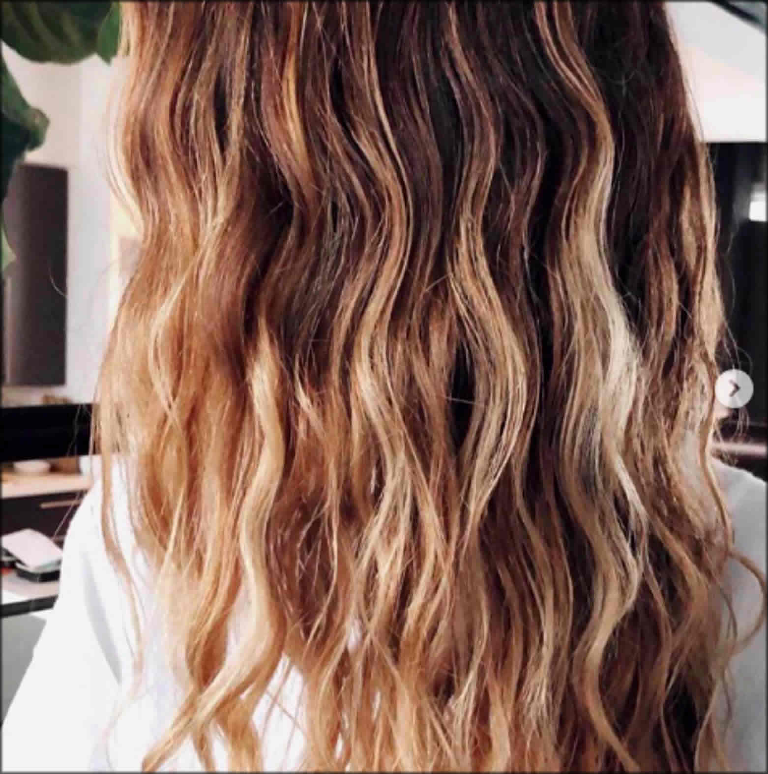 Half Up Natural Waves Women Hairstyles For Long Hairs