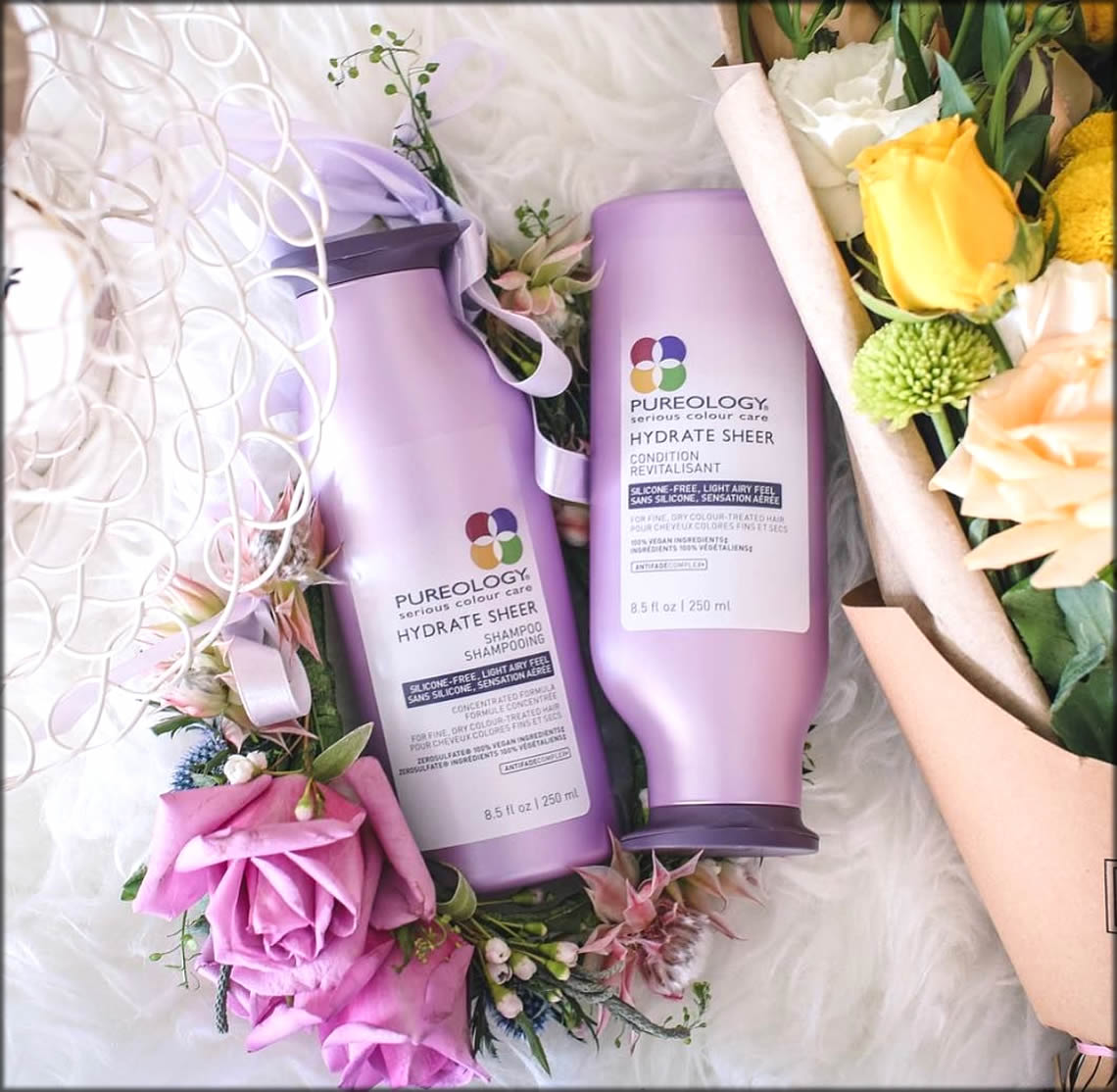 Hydrate Sheer Conditioners For Dry Hairs