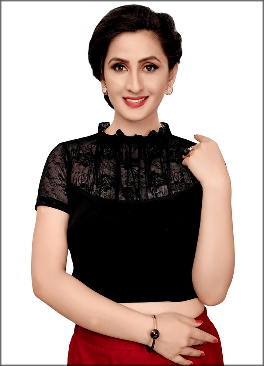 Lace Indian Blouse Saree
