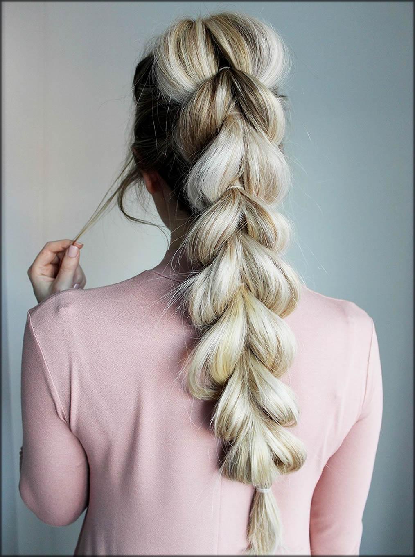 Lengthy Braid For Long Hairs