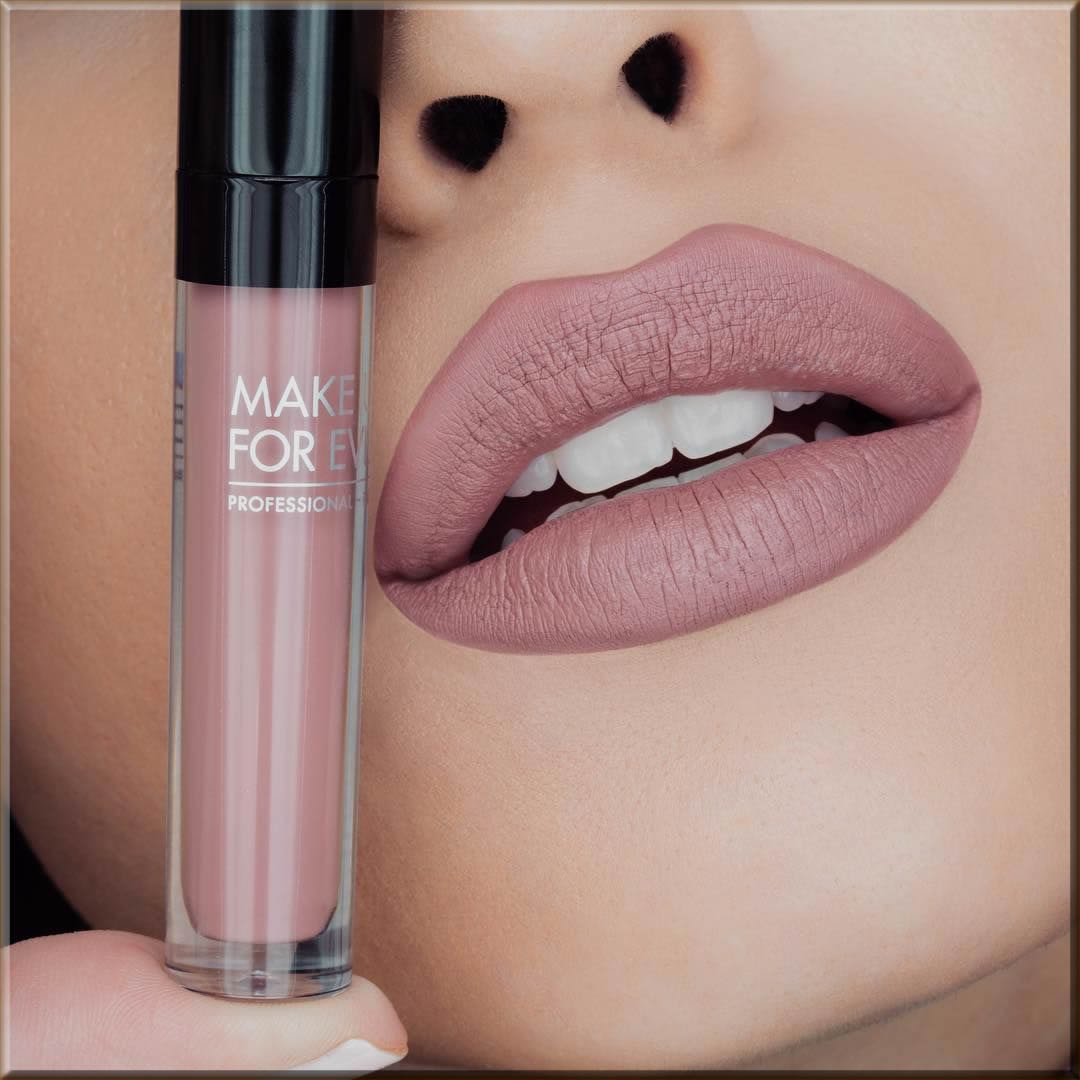Make Up For Ever matee lipsticks