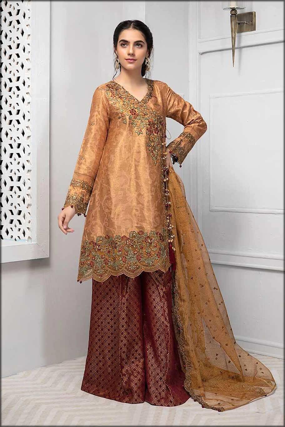 Maria B Stunning Angrakha Suit