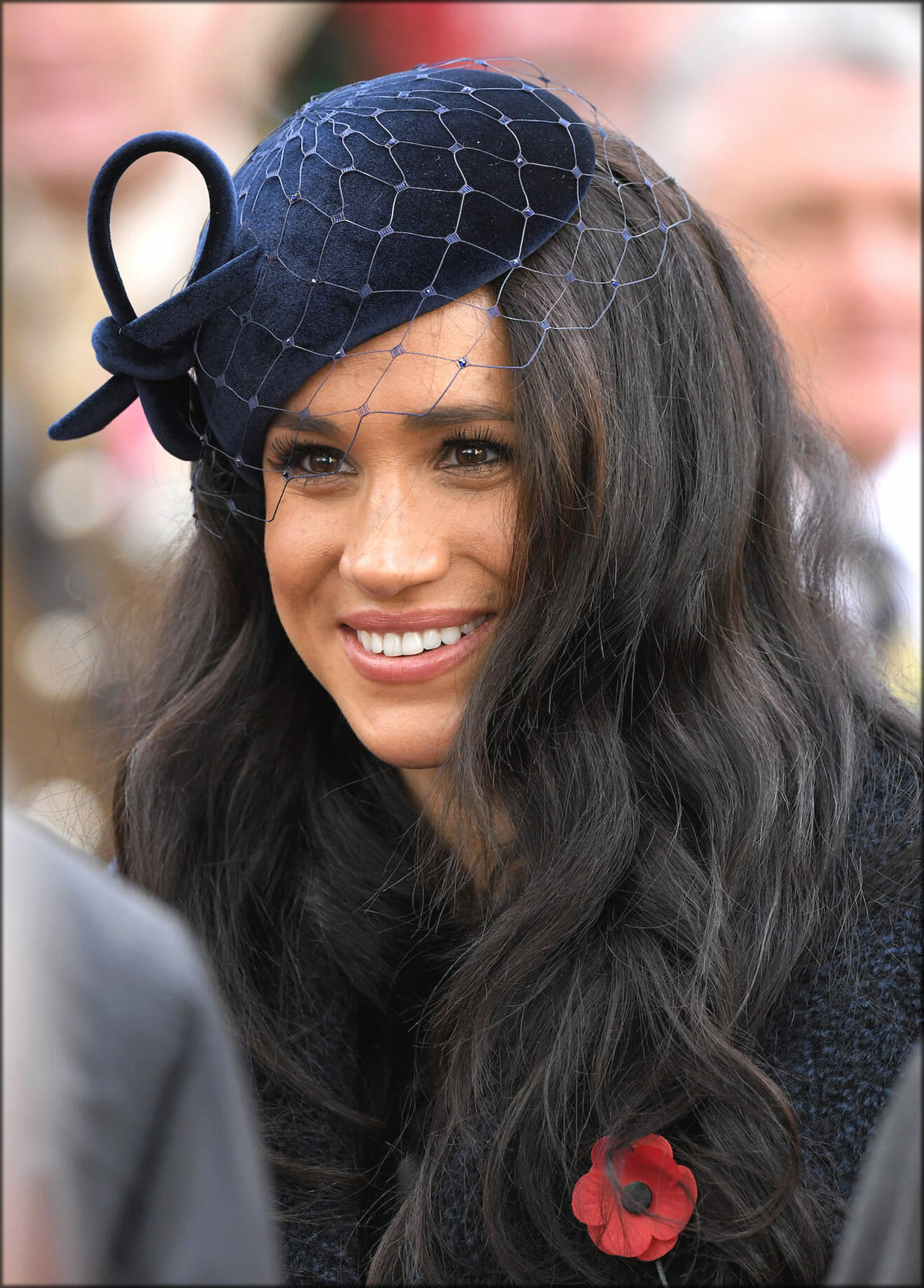 Meghan Markle With Long Hairs