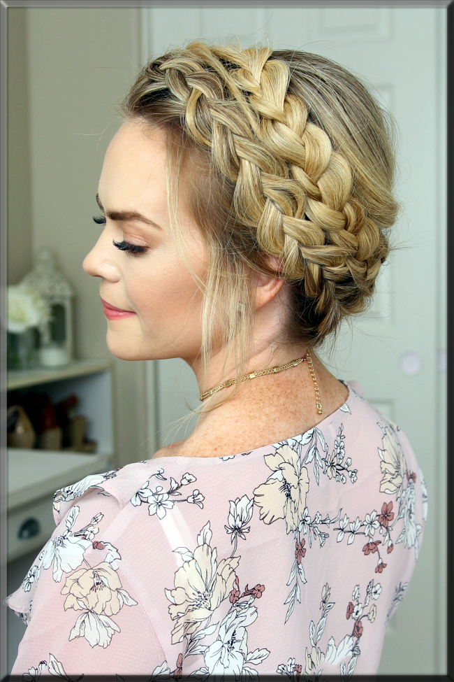 Milkmaid Braids for the teenagers