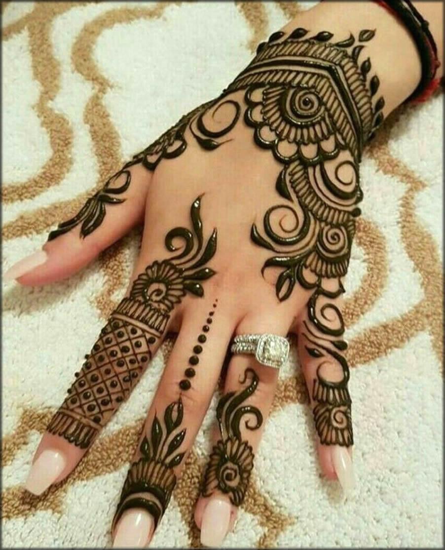 Motifs Back Hand Designs Of Hina