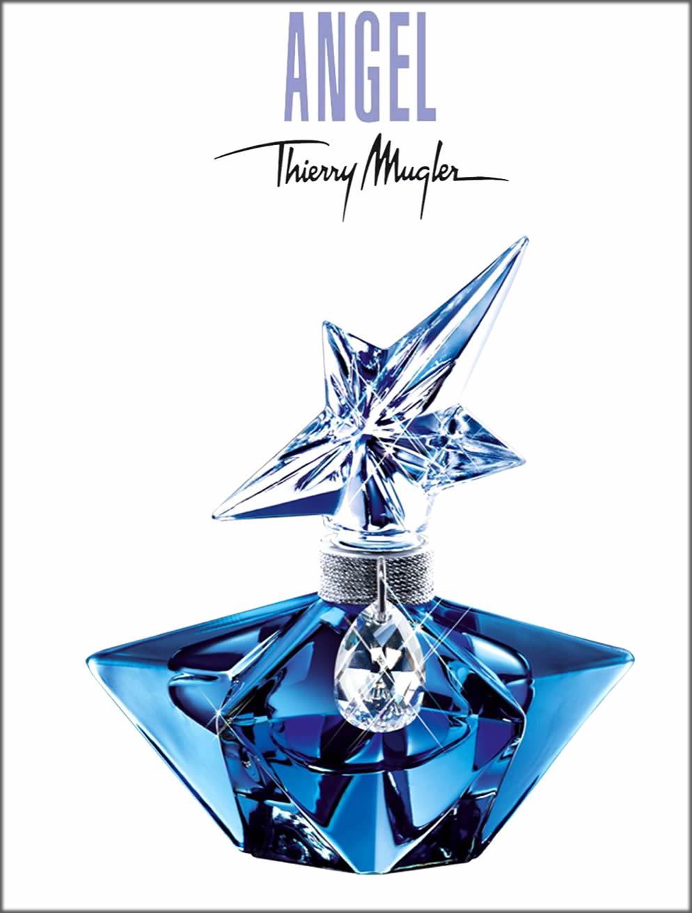 Mugler's Angel Ladies Perfumes For Women