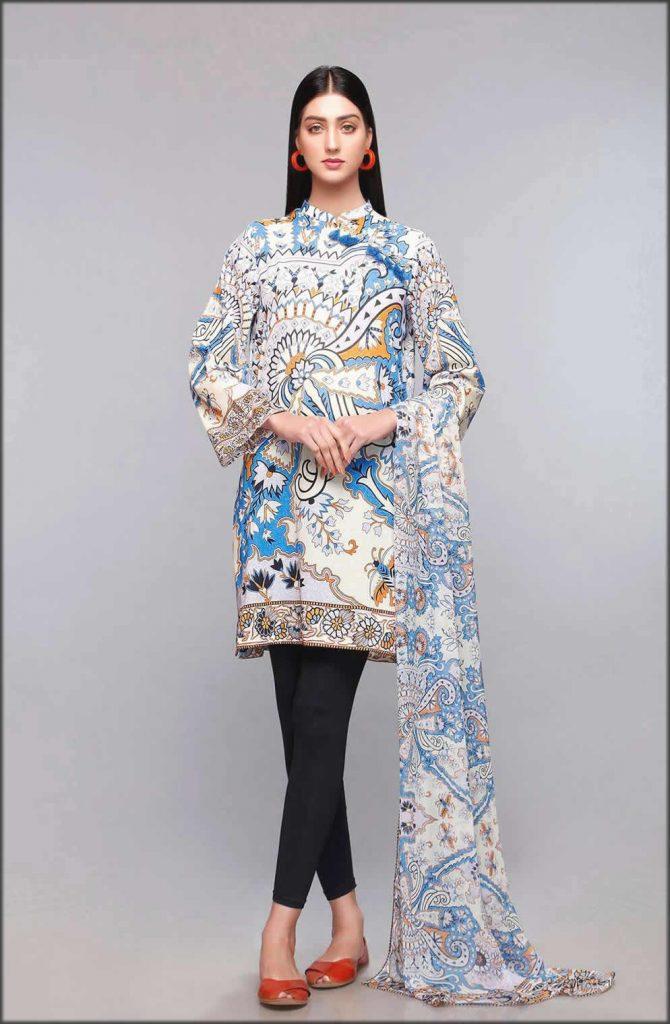 Oriental Carpet Shirt And Dupatta
