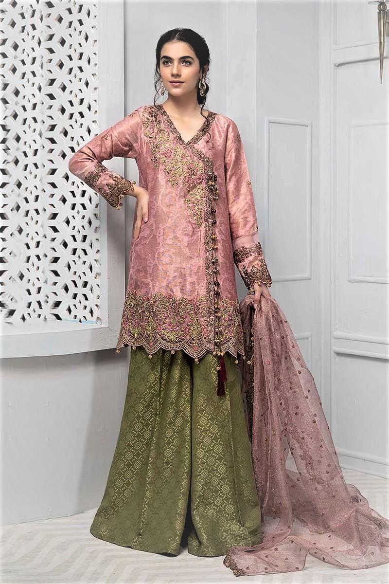 Pakistani Beautiful Angrakha Dress