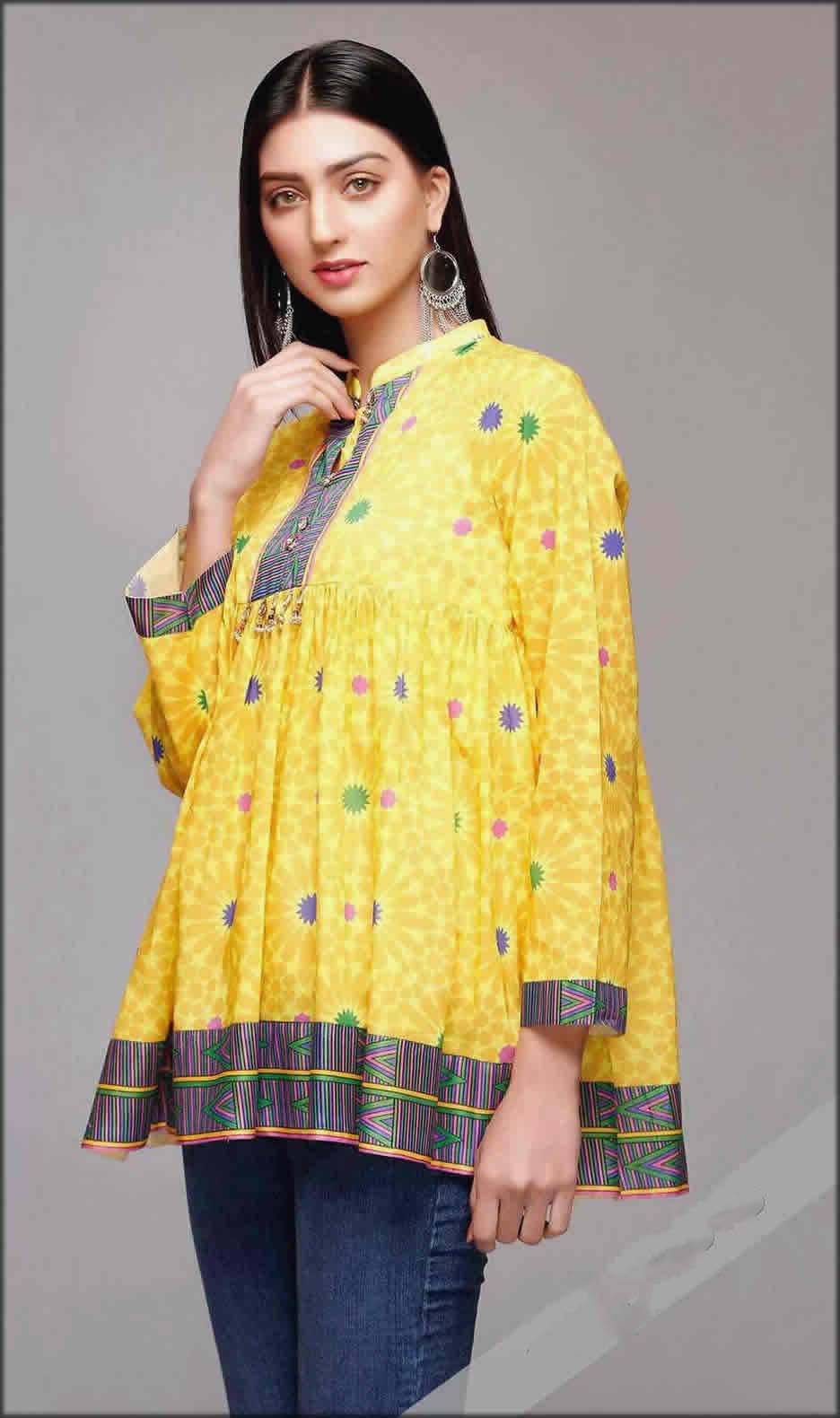 Rang Ja Summer Collection Printed Unstitched Lawn Frock
