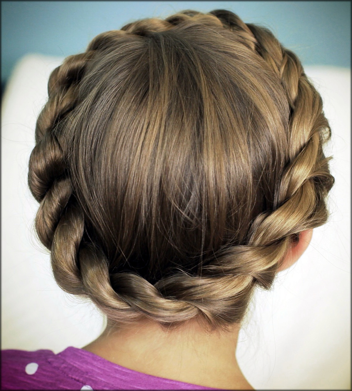 Rope Twisted Braid for the eid
