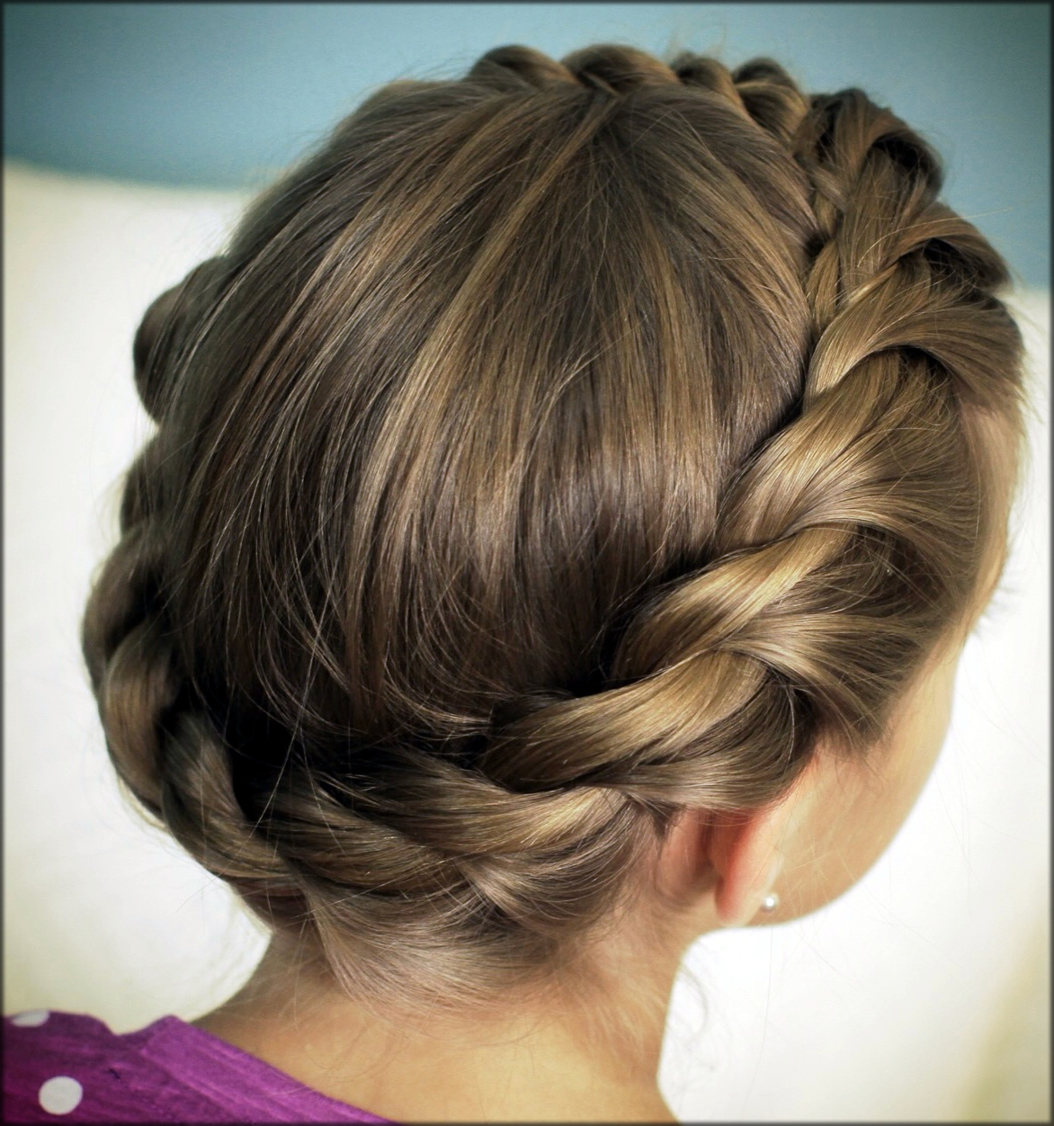 Rope Twisted Braid the latest eid hairstyles