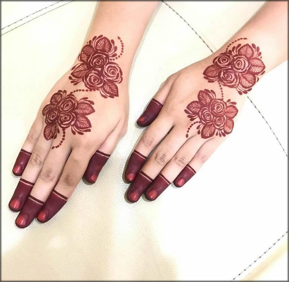 Simple finger rolling pattern