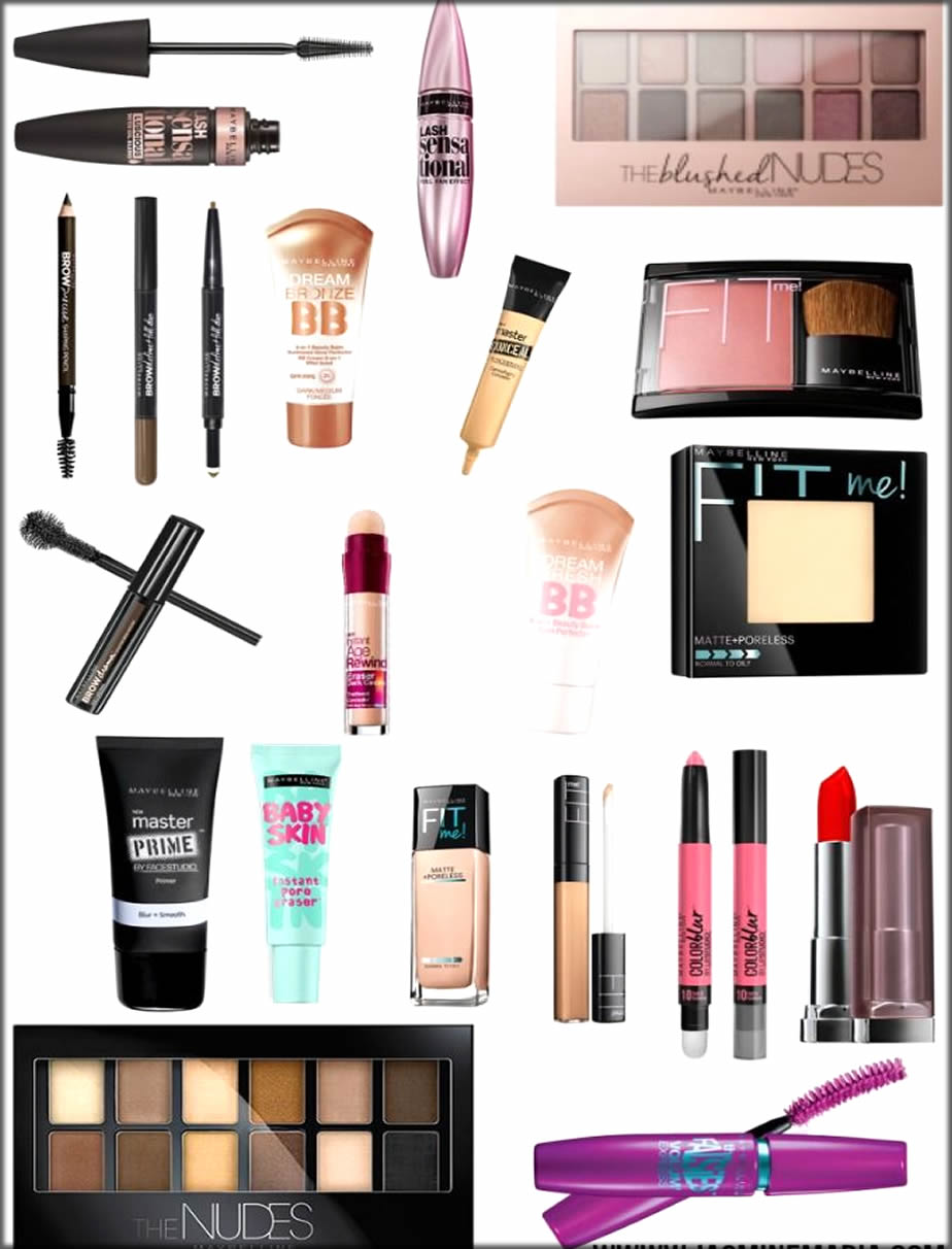 Top Maybeline Products