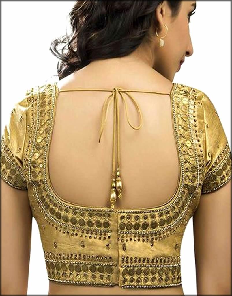 U shape Blouse For Indian Women