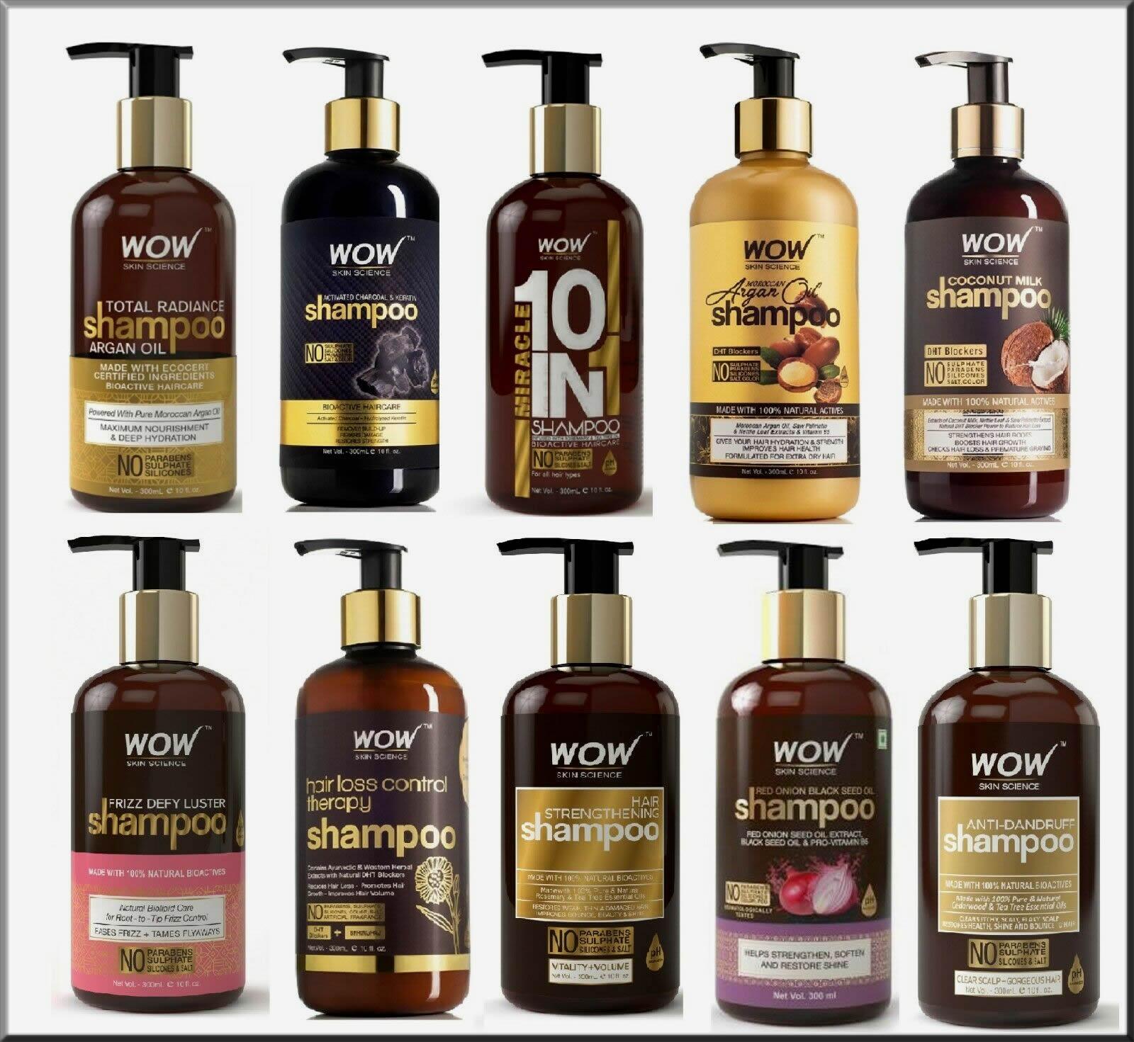 WOW Skin Anti-hair Fall shampoo