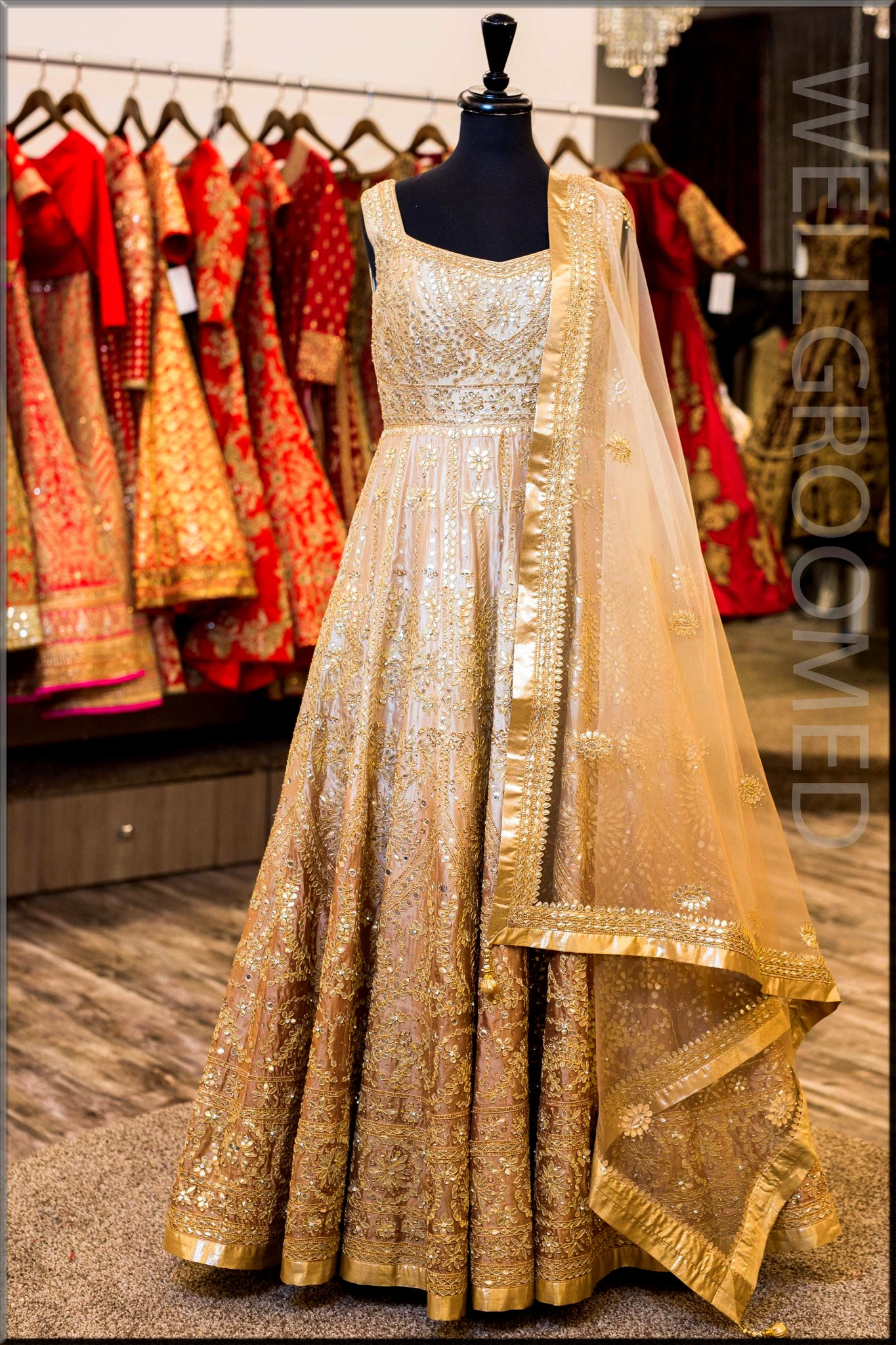 best party wear anarkali frocks