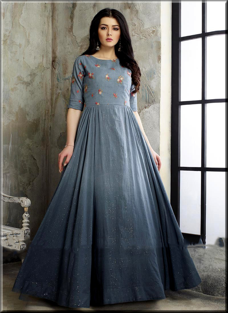 cutest anarkali frock for teenagers