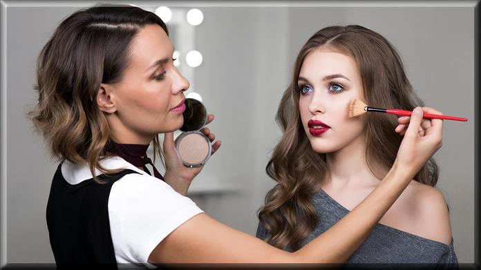 eid makeup final touch
