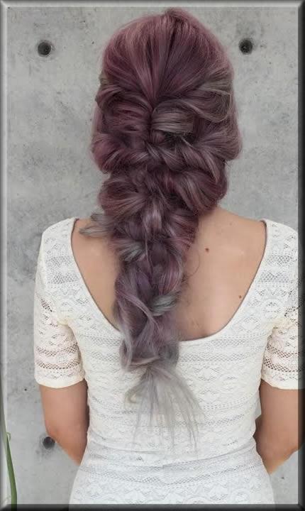 latest Messy Mermaid Braid hairstyles for girls