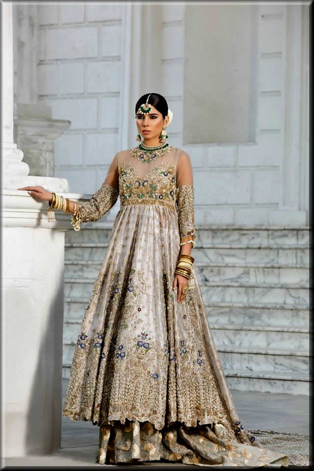 latest bridal Anarkali Frock