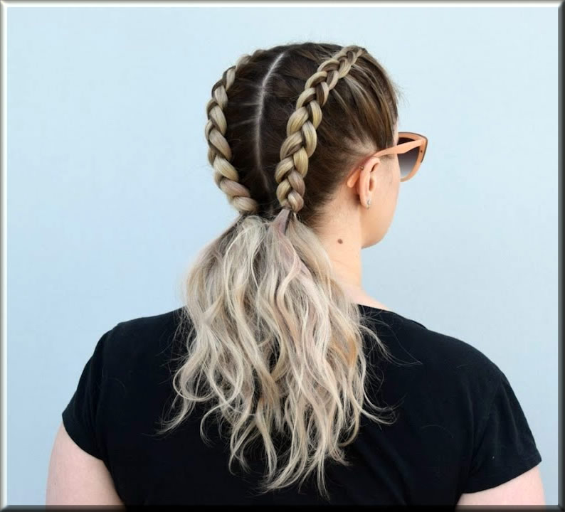 latest dutch braids eid hairstyles for girls