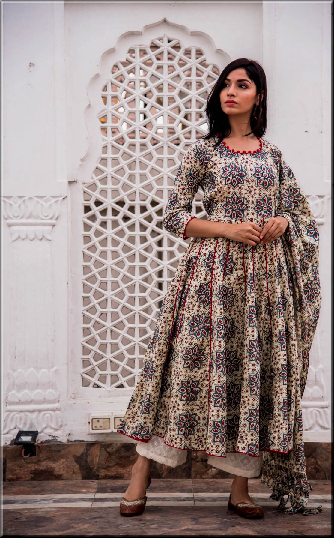 latest indian anarkali frocks