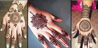 Beautiful Tikki Mehndi Designs You'll Love In 2021