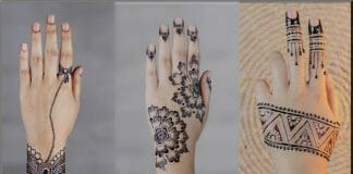 Easy Mehndi Designs For Beginners Step By Step