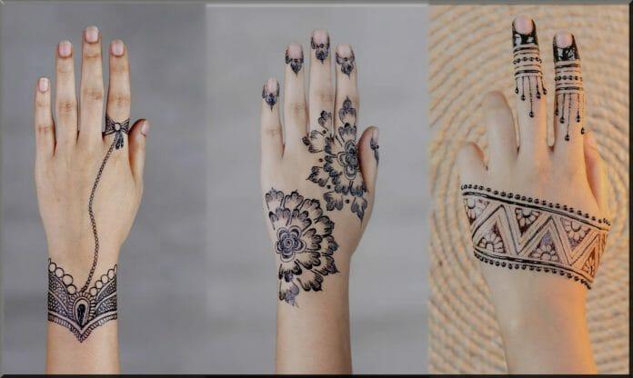 mehndi designs for beginners