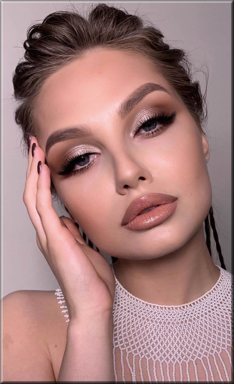 natural eid makeup ideas step by step
