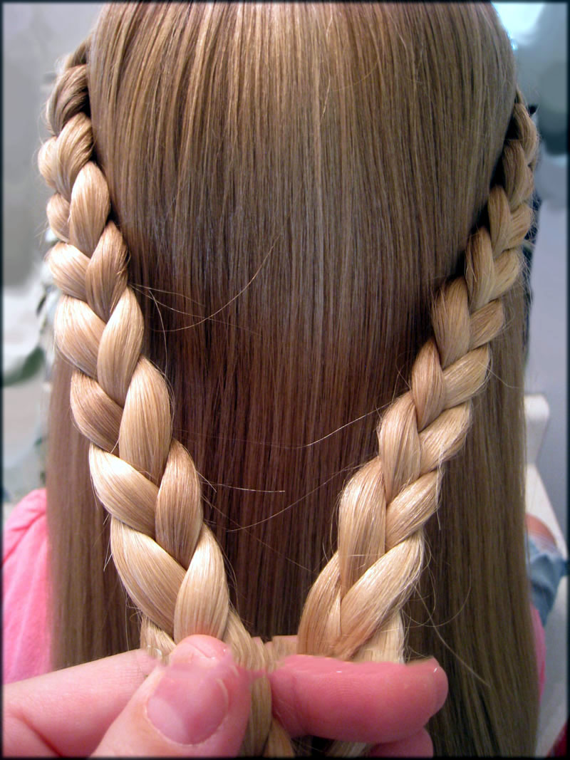 simple braids hairstyles for girls