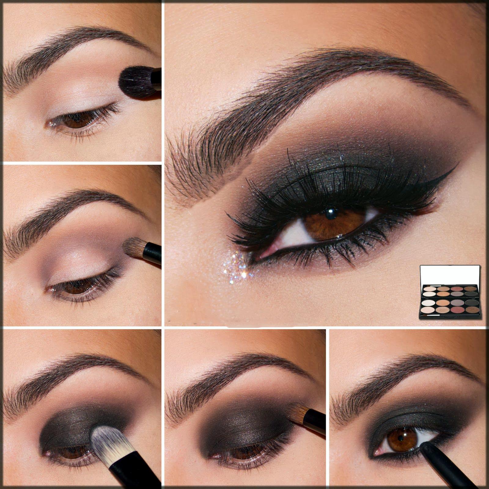 smokey eye step by step ideas