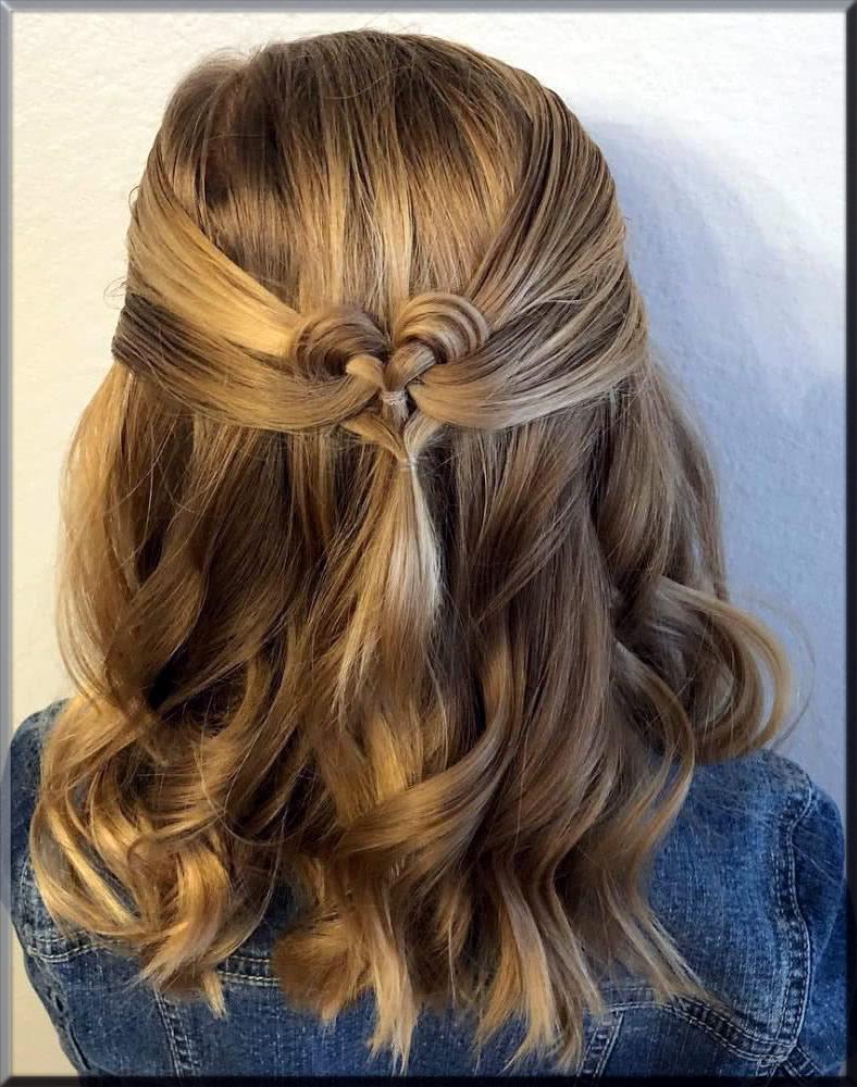 stunning heart hairstyles