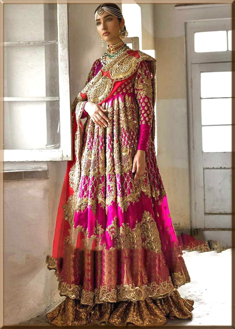 tredny anarkali dress for youngest