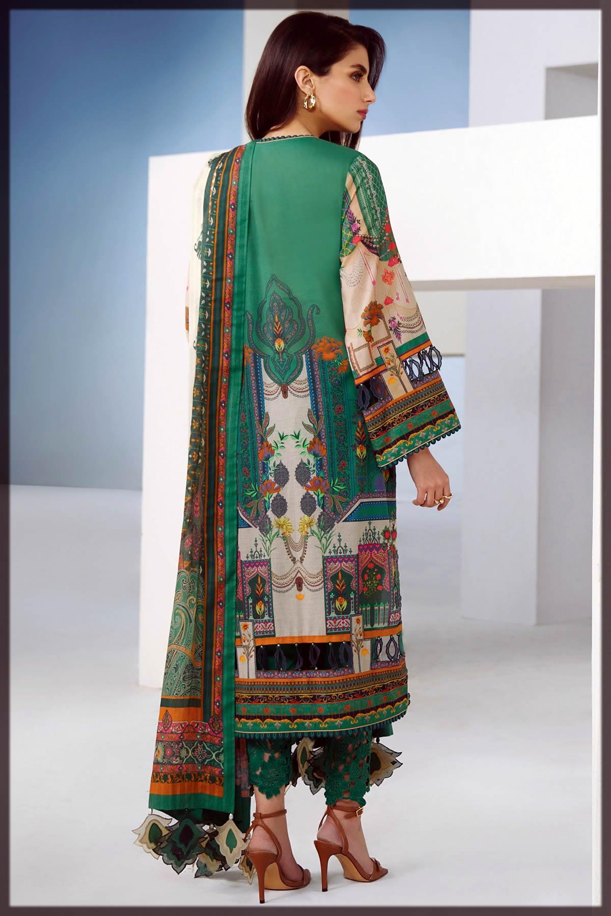 Alkaram Studio Summer Collection with brochia lawn dupatta