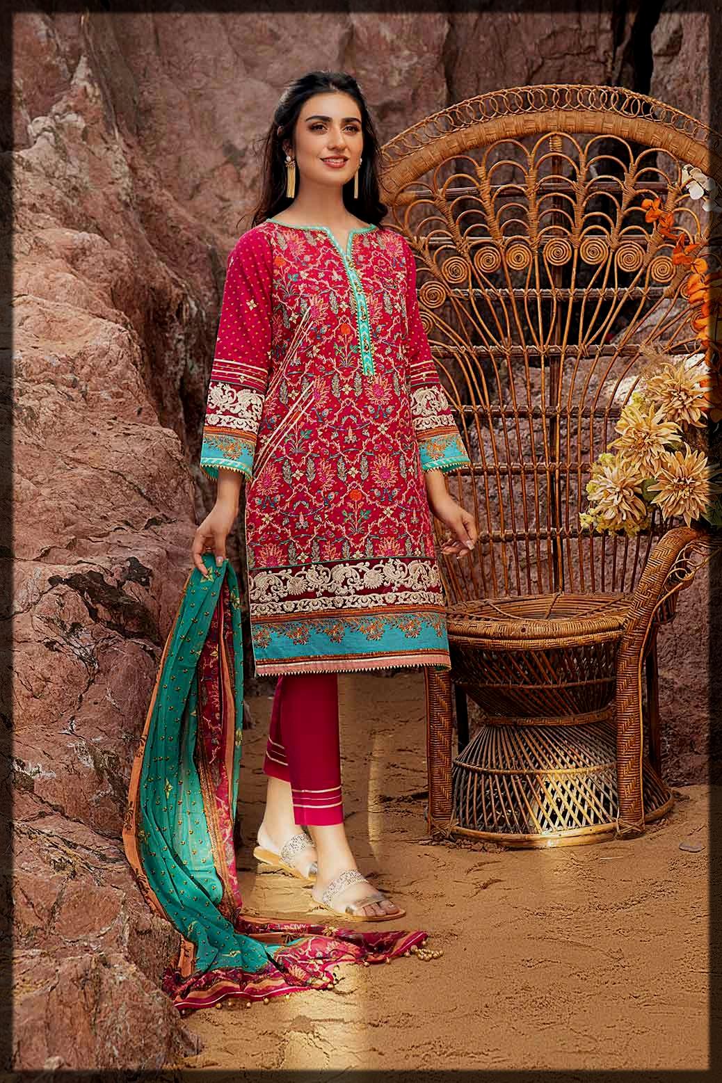 Bonanza Satrangi Summer Collection for women
