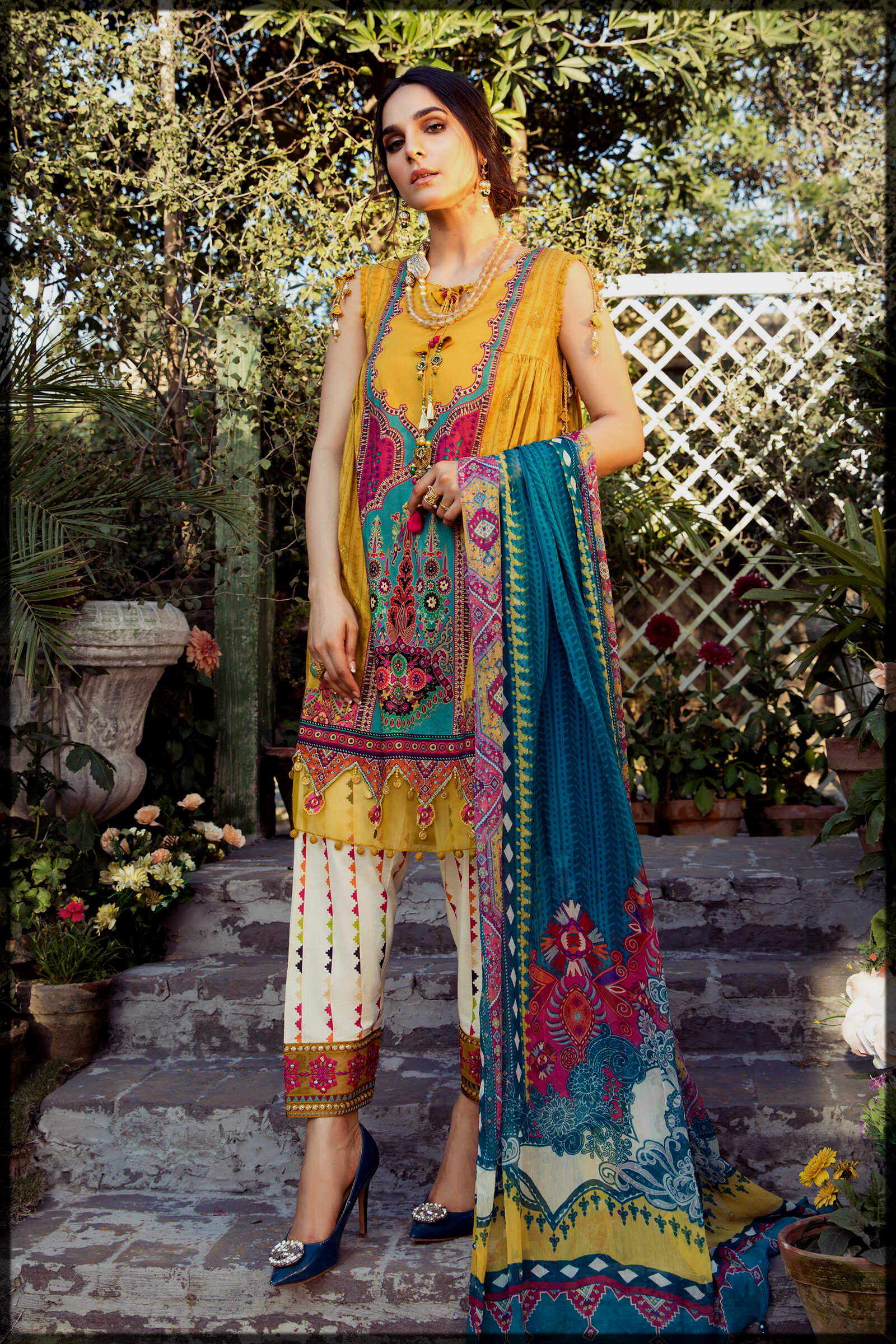Classy Unstitched Maria B Summer Collection