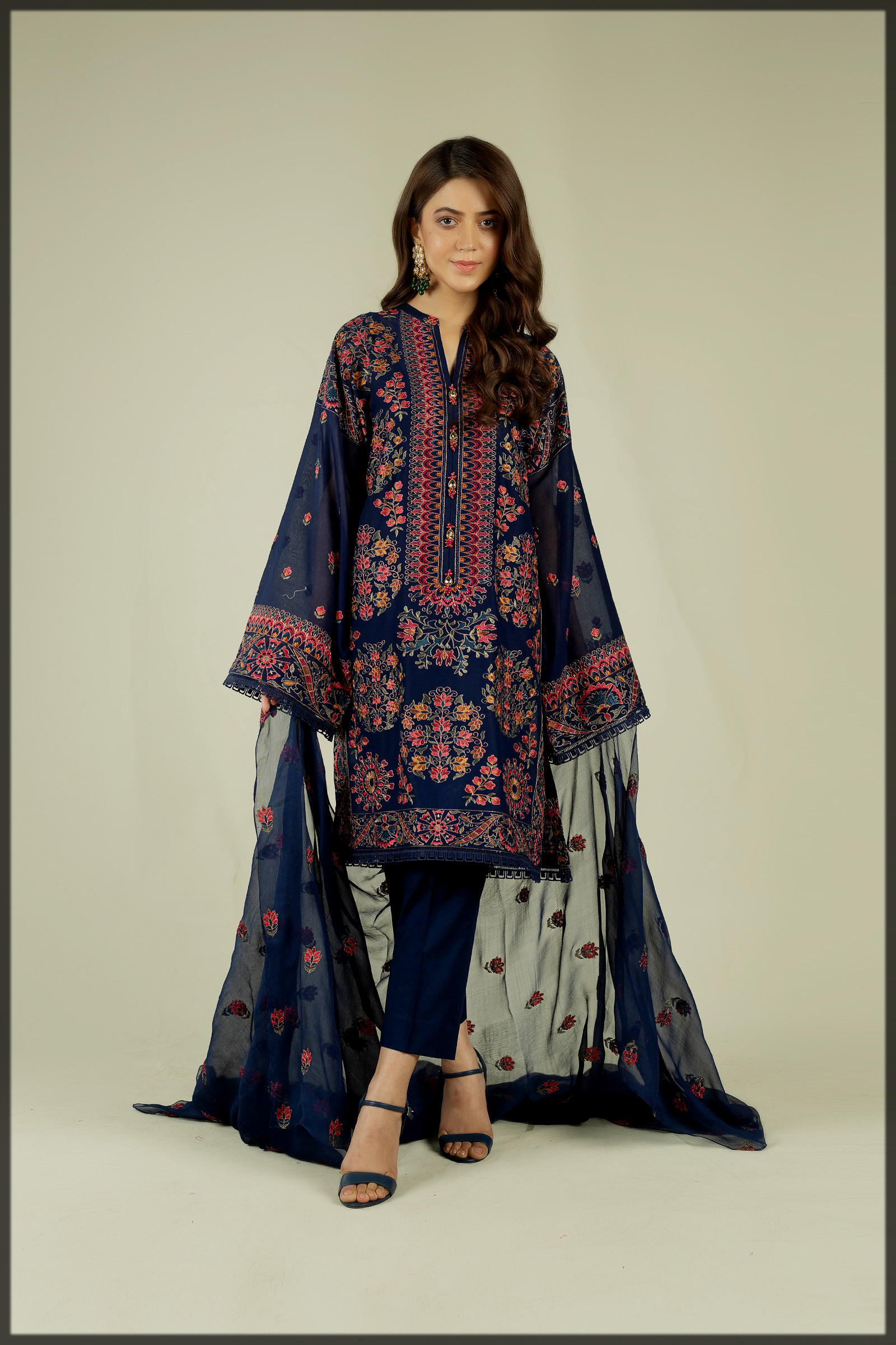 Embroidered Suits FOR WOMEN