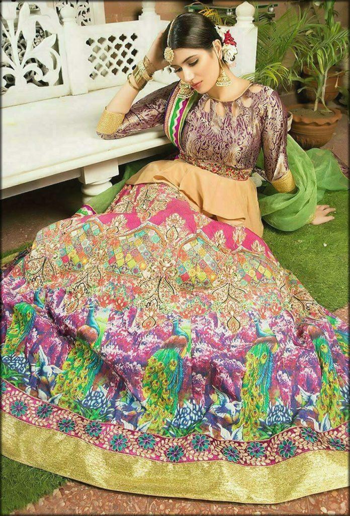 Heavily Embellished Lehenga Choli