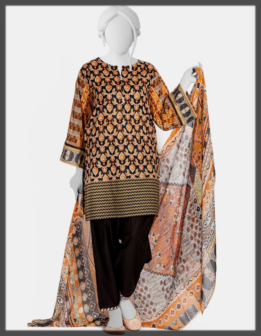 J. Stitched Suits Collection For Women